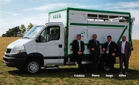 Dirigeants de SSCB Garcion-Guichard, Société Savenaysienne de Commerce et de Transport de Bestiaux