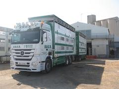 Transport d'animaux régional, national et international